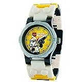 [レゴ ウォッチ]LEGO WATCH 腕時計 StarWars スター・ウォーズ STORMTROOPER ストーム トゥルーパー (9001949) [並行輸入品]