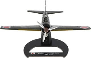 1/72th Army WWII Japan Mitsubishi A6M3 Zero Fighter Plane Diecast Vehicle Model Toy Gifts Showcase Display