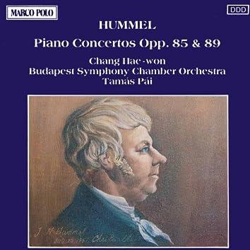 HUMMEL : Piano Concertos Opp. 85 & 89