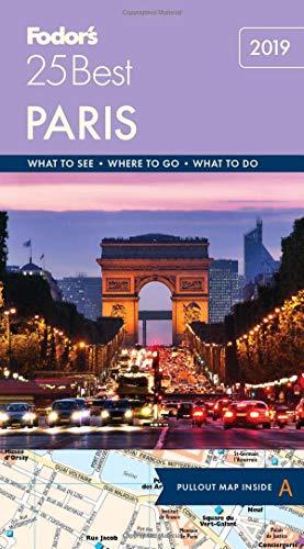 Price comparison product image Fodor's Paris 25 Best (Full-color Travel Guide)