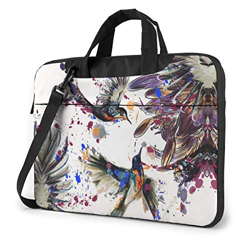 DJNGN Laptop Shoulder Bag Laptop Case Beautiful Art Painting Computer Sleeve Cover with Handle, Business Briefcase Bag