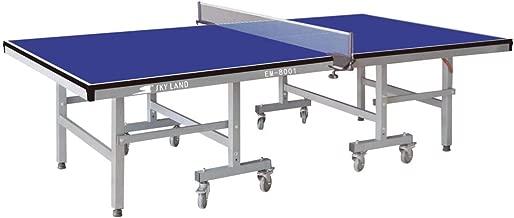 طاولة تنس قابلة للطي والتحريك من سكاي لاند EM-8001، ازرق