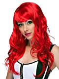 Characters Burlesque Party Wig (Red)