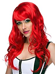 red cosplay wig Characters Burleque
