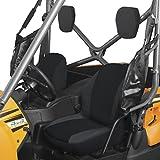 Classic Accessories - 18-144-010403-00 QuadGear Black UTV Bucket Seat Cover