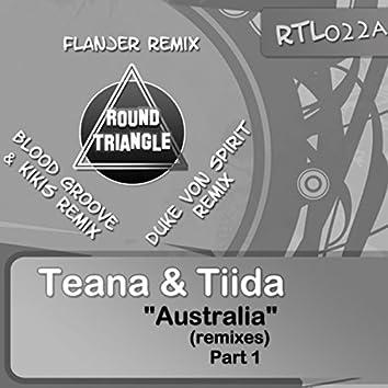 Australia, Pt.1 (Remixes)