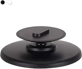 CMrtew ❤️ 360度回転 壁ブラケットスタンド メタルベース Amazon Echo Spotスピーカー用 調節可能なアルミニウム合金 光沢ホルダースタンド 13x13x4 cm ブラック all