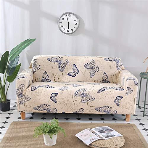 Protector de Muebles-Pieles de sofá Funda elástica para Sala de Estar Funda de sofá de Esquina Funda elástica para sofá A30 1 Plaza