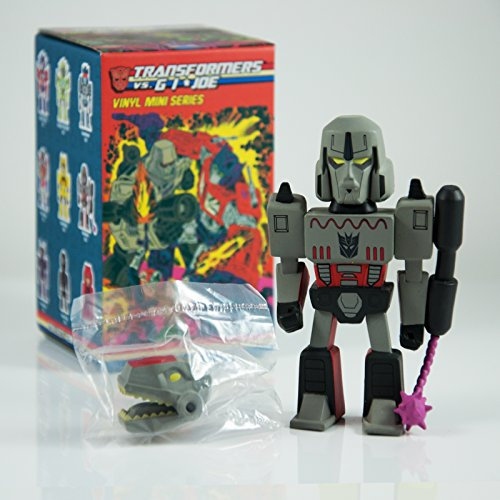 Transformers Megatron vs GI Joe 3' Mini Series Kidrobot Vinyl Figure Opened Blind Box