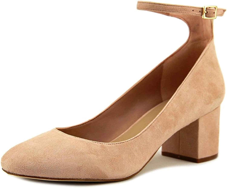 Aldo Womens Clarisse Suede Closed Toe Ankle Strap Classic Pumps