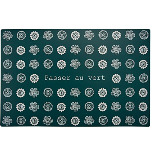 Incidence Paris 28976 Set DE Table-Au Jardin Entre Amis-Passer au Vert, Carton, 44 x 28,5 x 0,1 cm