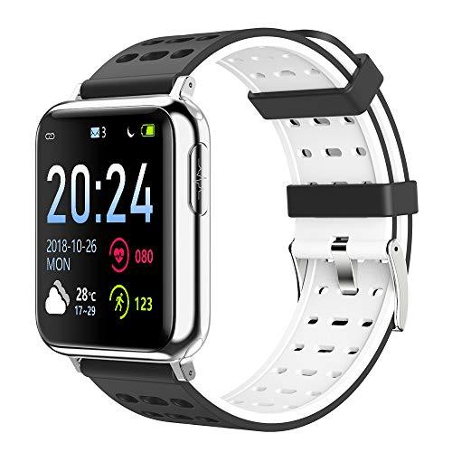 LQIAN V5 Smart Watch 1,3-Zoll-Touchscreen wasserdicht IP67 Hartglas Aktivität Fitness GPS Tracker Herzfrequenz Monito Kompatibel mit Männer Damen Smart Watch Kompatibel mit iOS Android