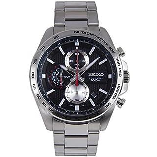 Seiko Men's Chronograph Quartz Watch with Stainless Steel Strap SSB255P1 (B076MNTYB5)   Amazon price tracker / tracking, Amazon price history charts, Amazon price watches, Amazon price drop alerts