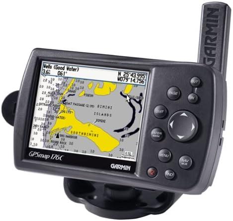 Garmin GPS MAP176C 3.8-Inch Waterproof Marine GPS and Chartplotter