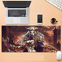 World of Warcraft大型マウスパッド 拡張スピード ゲームマウスパッド フライ ドラゴン マウスパッド ゲーマー オフィス コンピューター マウスマット (900X400X3MM)-A_700*300*3MM