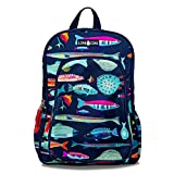 LONECONE Kids' 15' Backpack for Boys & Girls in Preschool, Kindergarten, School of Fish