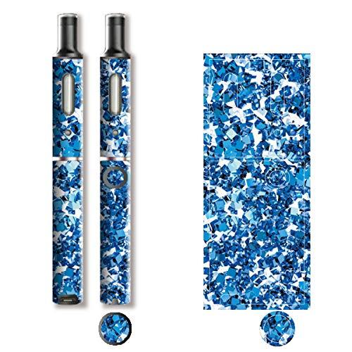 電子たばこ タバコ 煙草 喫煙具 専用スキンシール 対応機種 プルーム テック プラス Ploom TECH+ Ploom Tech Plus ロイヤルジュエリ (2) イメージデザイン 10 Royal Jewely 2 01-pt08-0146