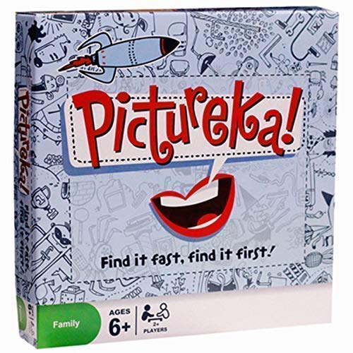 HS Enterprise Pictureka Board Game for Kids & Adults with Playing Card and Chips