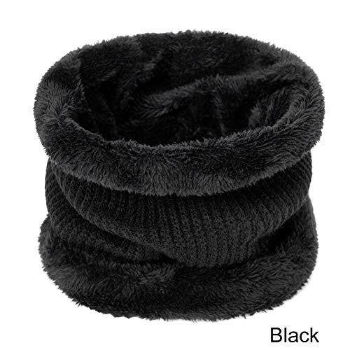 CHENGWJ Gebreide muts winter Heren Gebreide Hoeden En Sjaals Set Warm Plus Fluweel Dikke Gebreide Wollen Hoed En Sjaal Vrouw Mode Pak Unisex