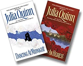 Julia Quinn Two-Book Set:  Dancing at Midnight and To Catch an Heiress