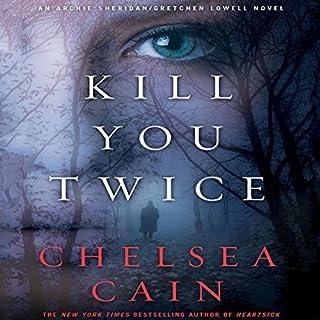 Kill You Twice audiobook cover art