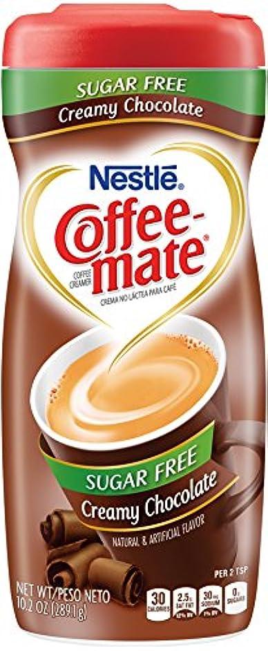 Coffee-Mate Coffee Creamer Sugar Free Creamy Chocolate, Pack of 1 (10.2 Ounce) s5159744826915