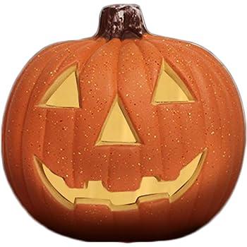 Amazon De Mh Lamp Led Halloween Kurbis Lampe Halloween Kurbislicht Halloween Deko Garten Kurbis