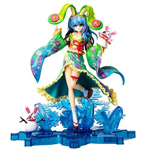 Date A Live Yoshino Anime Figurine Modèle de Personnage PVC - 24cm,Collection Décoration Ornements Cadeaux