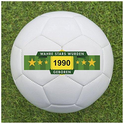 Balleristo Fußball Geschenk Personalisieren [Geburtsjahr] - Fußball mit Geburtsjahr Bedrucken Lassen - Bedruckte Fußbälle eignen Sich perfekt als personalisierte Fußball Geschenke für Klein und Groß