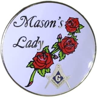 Best mason's lady pin Reviews