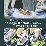 Mon carnet de dégustation d'Huîtres PAYS DE LA LOIRE: Idée cadeau pour les amateurs d'huîtres/ carnet de notes à remplir de vos dégustations/ grand ... / intérieur noir et blanc / PAYS DE LA LOIRE