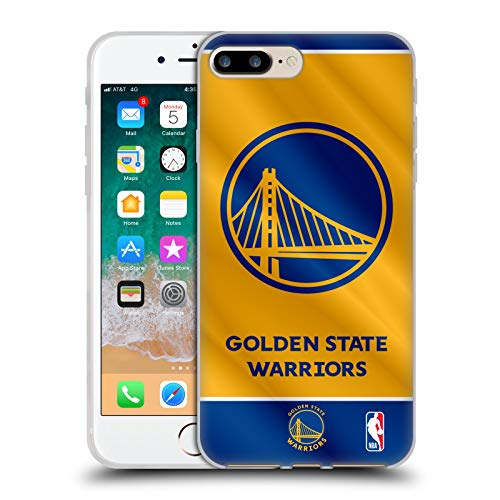 Head Case Designs Licenza Ufficiale NBA Banner 2019/20 Golden State Warriors Cover in Morbido Gel Compatibile con Apple iPhone 7 Plus/iPhone 8 Plus