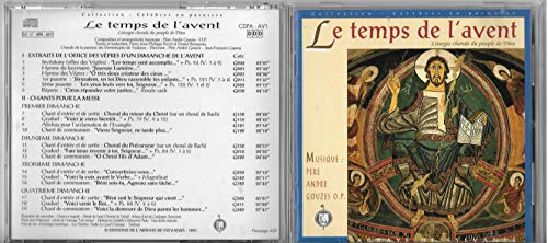 Le Temps De L\'Avent (liturgie Chorale Du Peuple De Dieu) [Import anglais]
