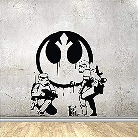 Remarkable Walls Star Wars Inspired Parody Storm Pooper Vinyl Decal