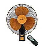 V-Guard Esfera RW 16 Wall Fan (RPM 1350; Orange, Black)