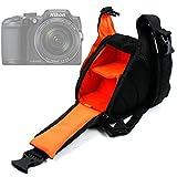 Petit sac à dos triangle pour appareils photo Panasonic Lumix GF8 et DMC-FZ300, Nikon Coolpix B500 et B700 Bridge,...