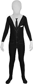 Slender Man Kids Morphsuit Costume - size Medium 3'11-4'5 (119cm-136cm)