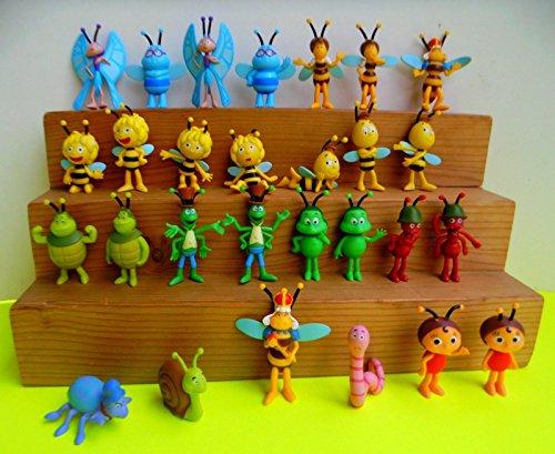 Emte Satz Figuren Biene Maja 28 unterschiedliche Figuren zum Spielen und sammeln