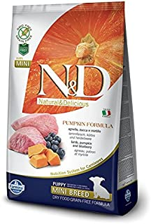 Farmina Natural & Delicious Grain-Free Pumpkin Lamb & Blueberry Puppy Mini 5.5 lb