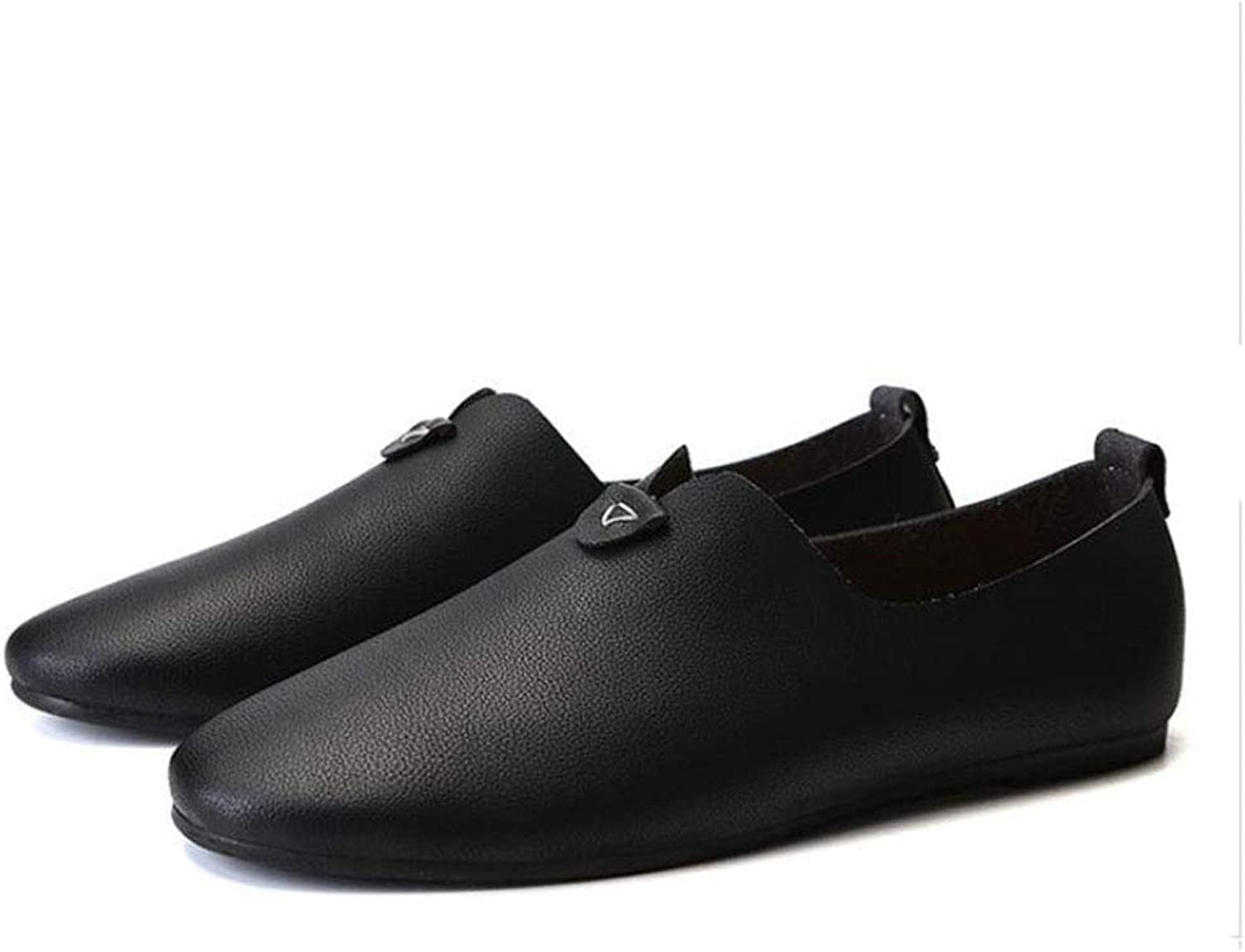 Y-H Men's shoes,Microfiber Loafers & Slip-Ons Peas shoes Lazy shoes,comfortable Breathable Casual Walking shoes Cycling shoes