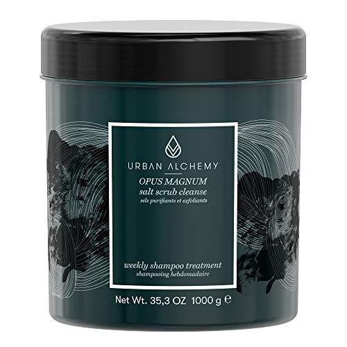 URBAN ALCHEMY - Opus Magnum Salt Scrub Cleanse 1l | Tiefenreinigendes Peeling Shampoo für Kopfhaut und Haare