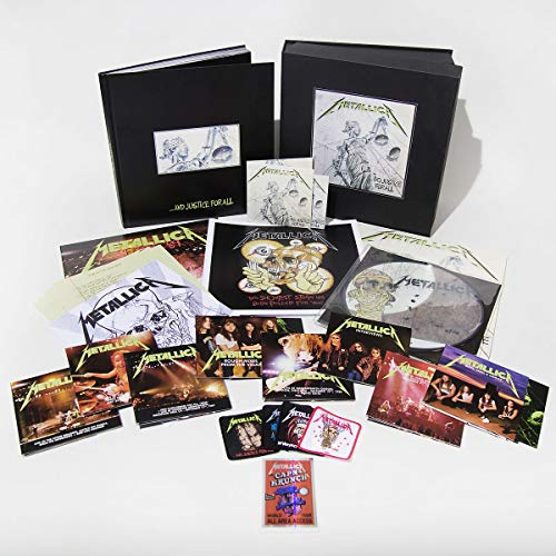 ...and Justice for All (Box 11cd+6lp+4dvd)