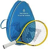 TECNOPRO Kinder Tennis-Set Twister 19, Gelb/Schwarz, One Size