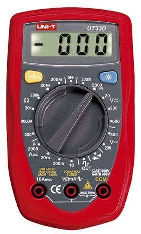 Easy Electronics UNI-T UT-33 Digital Multimeter