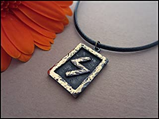 Sowilo The Sun and Energy Rune - Viking Norse Rune Pendant Necklace Jewelry