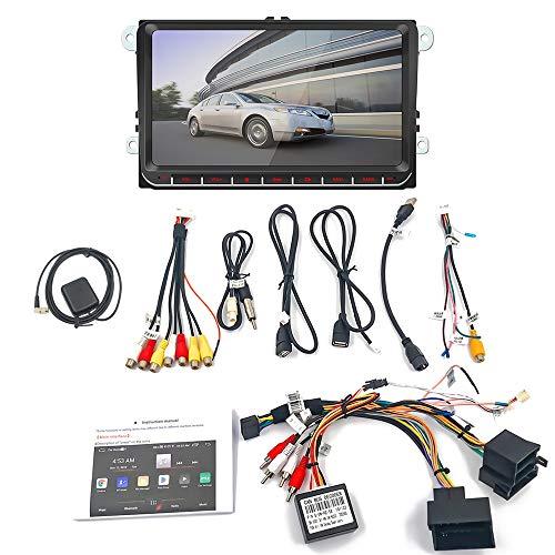 Dasing 2 Din 9 Zoll Auto MP5 Multimedia Video Spieler GPS Navigation WiFi Android 8.1 Auto Radio Spiegel Link Stereo Audio für, 9093