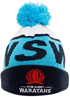 Waratahs 2018 Acrylic Bobble Rugby Union Supporter Fan Beanie Hat