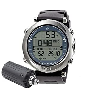 Oceanic OC1 Complete Wireless Dive Watch Blue-With Free Online Training Class - W/o Buddy Check