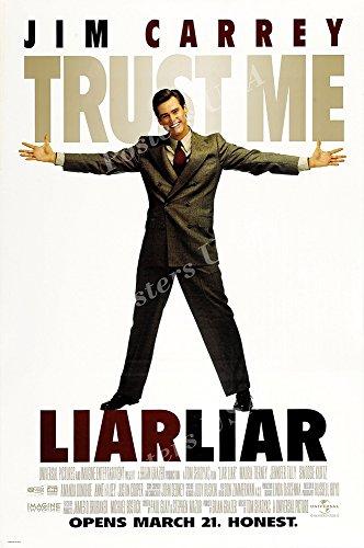 Posters USA - Liar Liar Movie Poster GLOSSY FINISH - MOV775 (24' x 36' (61cm x 91.5cm))