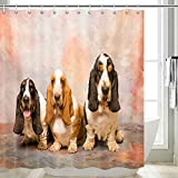 """Size: 69"""" X 70"""" (180 X 180CM) Material: Shower Curtain-Made of waterproof, polyester fabric. Machine washable, easy to clean Advantage: Most advanced printing and dyeing technology, the pattern is clearer and more vivid. Package Including: Shower Cur..."""